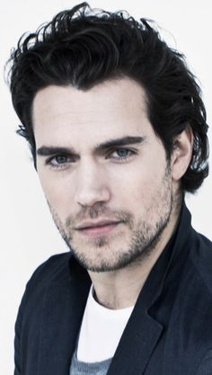 Henry Cavill - want to run my fingers through his hair, and my teeth through his scruff!