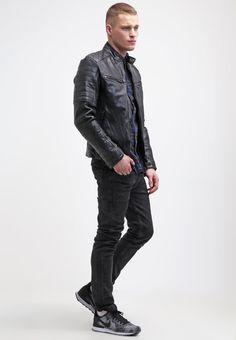 ¡Consigue este tipo de chaqueta de cuero de Be Edgy ahora! Haz clic para ver los detalles. Envíos gratis a toda España. Be Edgy ANDY Chaqueta de cuero black: Be Edgy ANDY Chaqueta de cuero black Ropa   | Material exterior: 100% cuero | Ropa ¡Haz tu pedido   y disfruta de gastos de enví-o gratuitos! (chaqueta de cuero, leather, suede, suedette, faux leather, polipiel, biker, ante, de cuero, lederjacke, chaqueta de cuero, veste en cuir, giacca in cuio)