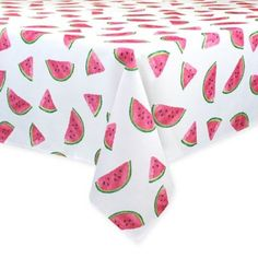 Colordrift Fresh Watermelon X Oblong Indoor/outdoor Tablecloth Multi Watermelon Decor, Baby Shower Watermelon, Watermelon Birthday Parties, Watermelon Designs, Fruit Birthday, First Birthday Party Themes, First Birthday Decorations, Birthday Ideas, Summer Birthday