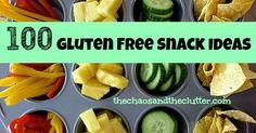 100 gluten free snack ideas