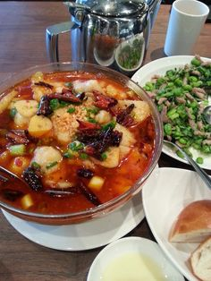 eatingclub vancouver: Water Boil Fish (水煮魚) or Water Boil Beef (水煮牛肉)