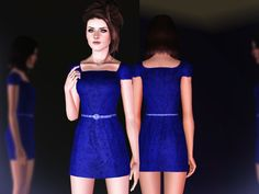 Nine in the Afternoon dress by April - Sims 3 Downloads CC Caboodle