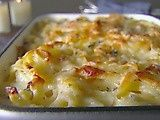 Creamy Baked Fettuccine with Asiago and Thyme (via Giada/Food Network) recipes-to-try food