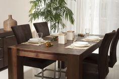 Ansteckplatten 2er Set  Patna  massiv Holz Moebel Esszimmer Tisch Esstisch