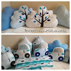 бортики подушки рукоделие handmade on Instagram