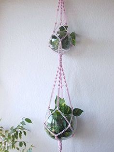 Double Macrame Plant Hanger *** This is an Amazon Associate's Pin. View the item in details on Amazon website by clicking the VISIT button.
