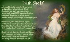 She is Irish