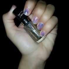 Leftover smudges #nails