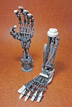 LEGO Mech Limbs-01 | Mitsuru Nikaido | Flickr
