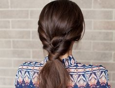 DIY New Year's Eve Hair: Topsy Tail - Inspired By This