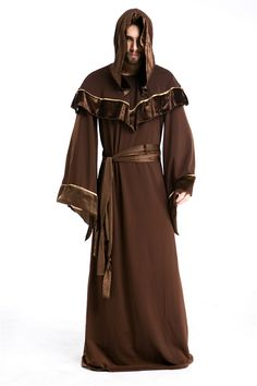 >> Click to Buy << High quality Halloween Costume Male Model Wizard clothing European religious  Taoist priest role playing cosplay  free shipping #Affiliate