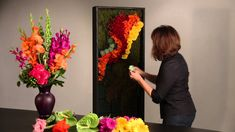 OASIS® Floral Foam Tile is the perfect base to create a living wall! A great tool for event and corporate work. Comes in 18x24 size with a hard plastic backi...