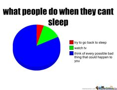 Sleep Cant Sleep Funny, Funny Me, Funny Stuff, Funny Pie Charts, Otaku Issues, Data Visualisation, Totally Me, Funny Posts, Bro