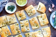Golden Focaccia This crisp-chewy flatbread is light and airy, the perfect base for a scattering of your favorite toppings. Naan, Ciabatta, Focaccia Recipe, Flatbread Recipes, Dough Ingredients, Baking Stone, King Arthur Flour, Flour Recipes, Sourdough Recipes