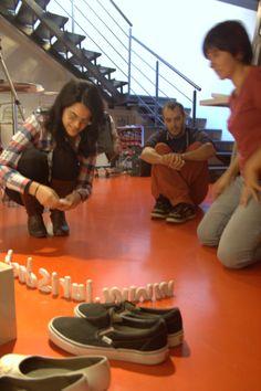 """""""Making of"""" de la felicitació de Nadal 2013 de Iurisdoc. http://www.youtube.com/watch?v=Xe0tPML3LiI"""