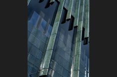 Holburne Museum Bath, Extension: Eric Parry Building - e-architect Innovative Architecture, Beautiful Architecture, Modern Architecture, Building Extension, Glass Extension, Linden Gardens, Facade Pattern, Glazed Brick, California City
