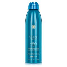 Soleil Toujours Organic Sheer Sunscreen Mist SPF 50 ocean safe recommended by renee