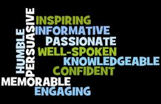 Qualities of Effective Presenters -- a class activity