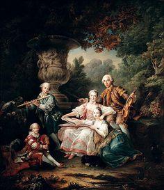Parrot Photograph - Louis Du Bouchet Marquis De Sourches And His Family, 1750 Oil On Canvas by Francois-Hubert Drouais Rococo Painting, Victorian Paintings, Versailles, Art Français, Portrait, Francisco Goya, Art Ancien, Marquis, Old Art