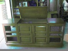 After I Had Gutted Out The Speakers On The Sides, Record Player And Stereo,  · Stereo CabinetConsole CabinetOld ...