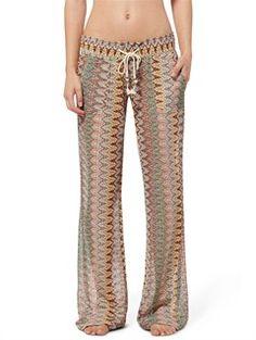 WBS6Ocean Side Pants by Roxy - FRT1