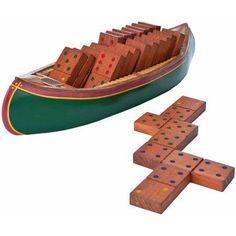 GSI Outdoors Dominoes, Canoe, Green