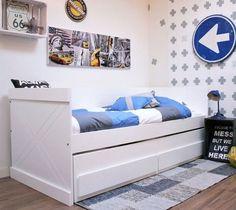 Łóżko SEM bedbank  zestaw z dodatkowym wysuwanym spaniem
