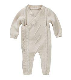 HEMA knitted baby sleepsuit