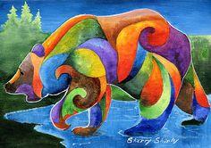 Zen Bear  by Sherry Shipley