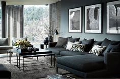 Vardagsrumsinspo - Lilly is Love Living Room Grey, Home Living Room, Living Room Decor, Interior Design Living Room, Living Room Designs, Interior Decorating, Style At Home, Piece A Vivre, Luxury Living