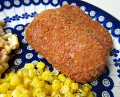 panko crusted spam.  Yes, that's right.  SPAM.  The almost-meat that people love to hate.
