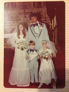 In '76 I rocked the powder blue .... #sexyringdude