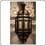 Moorish style lanterns to rent for parties, great to hang in trees. E-mosaik.com