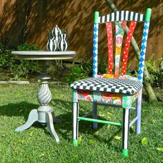 Mark Montano: Alice in Wonderland Chair DIY