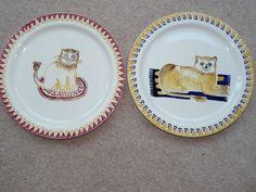 Emma Bridgewater Mary Fedden Lion Cake Plates
