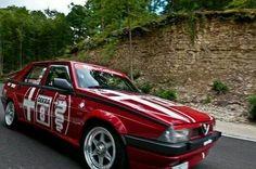 Alfa 75 Alfa Alfa, Aston Martin Lagonda, Alfa Romeo Cars, Sedans, Cars And Motorcycles, Race Cars, Volkswagen, Automobile, Racing