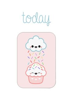 Kawaii sprinkles today page marker