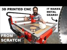 The Printed CNC MkII is finished and it works beautifully. Diy Laser Engraver, Small Printer, Diy Cnc Router, Cnc Parts, 3d Printer Designs, 3d Cnc, 3d Prints, Science And Technology, Metal Working