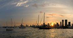 Manga Tiene Su Encanto. #Cartagena #Manga #Sunset #January #LaFantástica #CorralitoDePiedra #LaHeróica #CartagenaDeIndias #Colombia ##YachtClub #Skyline #GoldenHour