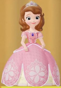 Princess Sofia Dress, Disney Princess Pictures, Sofia The First, Super Heros, Character Aesthetic, Cool, Purple, Pink, Ball Gowns