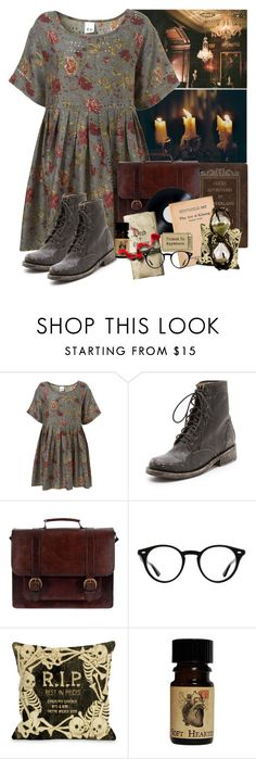 """""""adventures in wonderland"""" by eternaldarkkness ❤ liked on Polyvore featuring Steve Madden, Beara Beara, Baggins, Ray-Ban and One Bella Casa"""