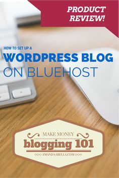 Bluehost review and video tutorial | How To Set Up a Wordpress Blog On Bluehost http://www.amandaabella.com/bluehost-review-how-to-use-bluehost-to-set-up-a-wordpress-blog/