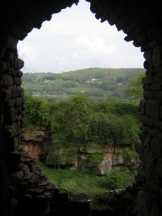 Goodrich castle window one