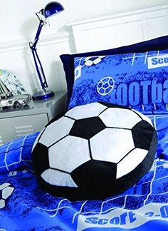 Catherine Lansfield Kids It's A Goal Cushion - Multi-colour
