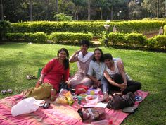 Picnic in Cubbon Park , Bangalore