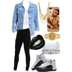 Just For August, created by janelle143xo on Polyvore