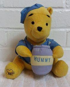 Winnie the Pooh Night Light Stuffed Animal Plush Nursery Crib Toy          (A5) #DisneyBaby