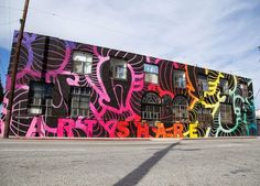 What: Art Share building mural by Insa Where: 801 E. 4th Place (at S Hewitt Street), DTLA Arts District
