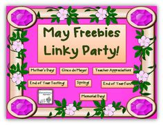 Elementary Matters: May Freebies Linky Party!