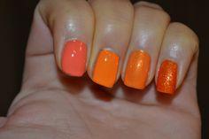 3rd along - Revlon Tangerine